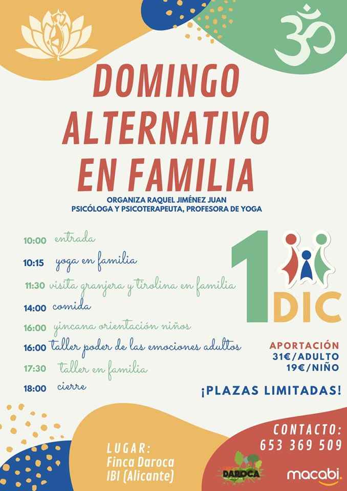 Domingo alternativo en familia